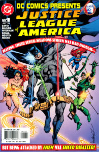DC Comics Presents: Justice League of America (Oct. 2004) Cover art by  Jose Luis Garcia-Lopez